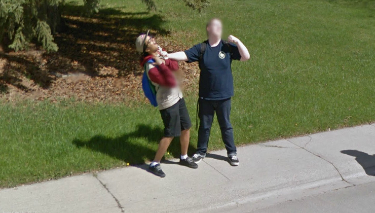 Weird Things Caught On Google Maps Street View Best