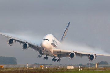 Boeing 747 Worst Crosswind Storm Landings